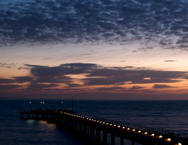 The jetty at Lorne - first light
